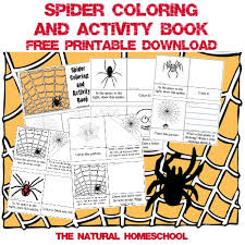 free printable books for kids about spiders the natural homeschool