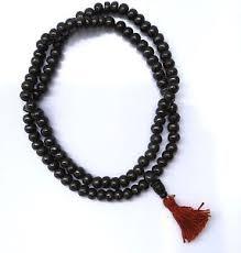 bead necklace ebay images Tibetan buddhist black yak bone meditation mala bead necklace ebay jpg