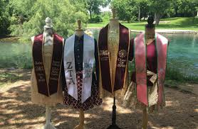 sorority graduation stoles graduation stoles creeds crests inc