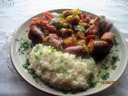 cuisiner des saucisses fum馥s recette de rougail de saucisses fumées aux légumes