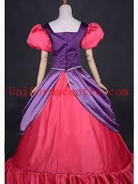 Cinderella Ugly Stepsisters Halloween Costumes Cinderella Evil Stepsisters Purple U0026 Red Satin Halloween Cosplay