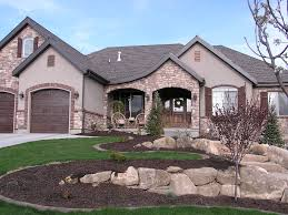 brick home designs stucco exterior designs gkdes com