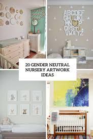 Gender Neutral Nursery Themes 20 Gender Neutral Nursery Artwork Ideas Shelterness