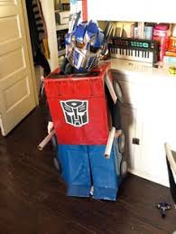 Transformer Halloween Costume Id Mommy Diy Mickey Mouse Optimus Prime Transformer Halloween