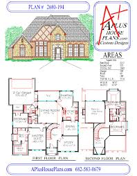 Garage Floor Plans by House Plan 2680 194 Country French Front Elevation 2680 Sqft