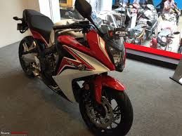 honda cbr new model price honda cbr 650f launched in india at rs 7 3 lakh page 4 team bhp