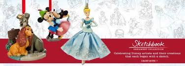 disney sketchbook ornaments on sale now disney geekery