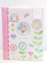 baby girl memory book baby s memory book our baby girl pink with