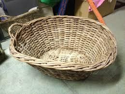 cane laundry hamper wicker basket amazingjunk