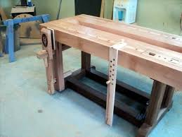 Mounting A Bench Vise The V8 Wedge Powered Workbench 7 Installing The Leg Vice And