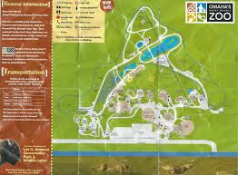 San Francisco Zoo Map by Doorly Zoo Map U0026 Photo Of Omaha U0027s Henry Doorly Zoo And