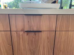 what are veneer cabinets walnut veneer kitchen cabinets
