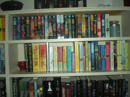 all about n bookcase of the week starring stacie of