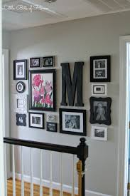 staircase wall design saturday sparks link party 112 gallery wall walls and living rooms