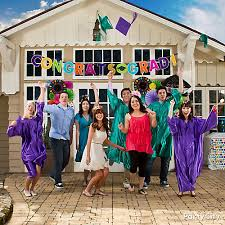 senior graduation party ideas graduate photo op idea colorful graduation party ideas