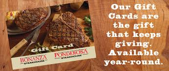 ponderosa steakhouses