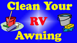 Fifth Wheel Awnings How To Clean Your Rv Camper Fifth Wheel Or Travel Trailer Awning