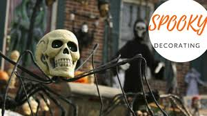 Outdoor Halloween Decoration Videos by 2017 Spooky Outdoor Halloween Decorating Ideas Youtube
