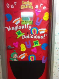 day door decorations classroom door ideas for valentines day and st patricks day