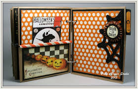 chunky vintage halloween album polly u0027s paper studio