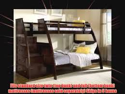 Bunk Bed With Stairs And Drawers Canwood Overland Bunk Bed With Built In Stairs Drawers Twin Over