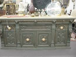 newport avenue antiques vintage berkey and marble top buffet
