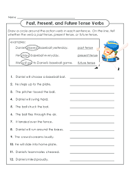 practice identifying the different verbal tenses with this free