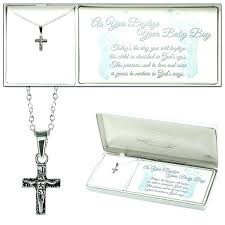 baptism jewelry box baptism jewelry box baby boy baptism box cross crucifix necklace