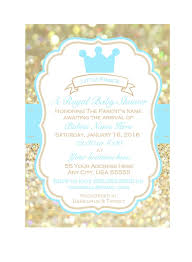 prince baby shower invitations prince baby shower invitation printable baby shower