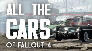 all the cars all the cars of fallout 4 corvega rocket 69 fusion flea