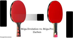 stiga pro carbon table tennis racket stiga evolution vs stiga pro carbon which one is the best for you