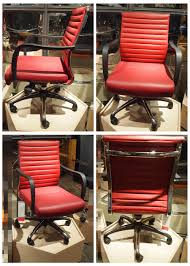 office chair swivel computer chair mid back armchair fixed arms