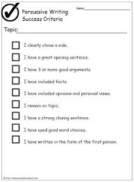 persuasive research paper topics for college students persuasive writing success criteria starting point literacy