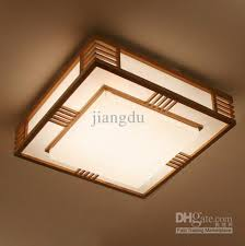 Japanese Ceiling Light Fresh Wood Modern Style L Lighting Ls Logs Japanese