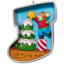 stocking cookie cutter christmas decorating tree mouse