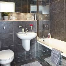 Grey Bathrooms Decorating Ideas by White Shower Room Amazing Look At This Cool America Style