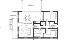 plan maison contemporaine plain pied 3 chambres plan maison moderne plain pied 3 chambres avec garage maison ligne