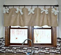 Diy Kitchen Curtain Collection In Kitchen Valance Patterns And Kitchen Contemporary