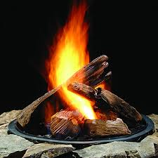 Gas Fire Pit Logs by Outdoor Gas Fire Logs Home Decoration
