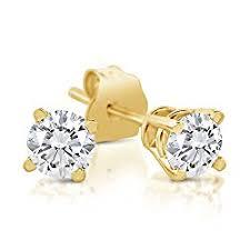 most beautiful earrings the most beautiful 0 25 carat diamond stud earrings