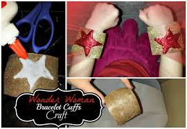 Halloween Toilet Paper Roll Crafts by Diy Wonder Woman Bracelet Cuffs Easy Super Hero Kid U0027s Craft