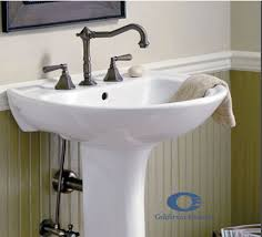 Pedestal Sink Faucet Replacement The Faucet Works Website