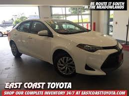 east coast toyota used cars affordable used cars in wood ridge jersey east coast toyota