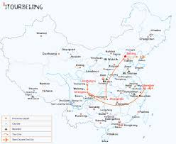 Xiamen China Map by 12 Day China Landscape Beauty Tour