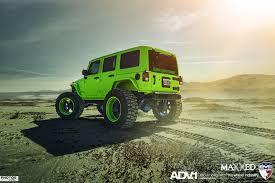 wrangler jeep green adv 1 dp 2x jeep wranglers evs motors maxxed