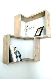 Corner Wall Bookcase Corner Shelves Wall Hermelin Me