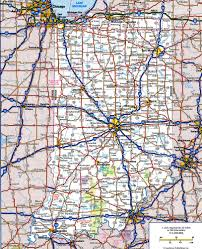 Louisiana Highway Map Indiana Highway