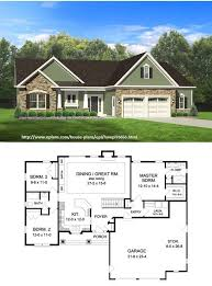 Home Plans With Cost To Build Small Bungalow House Plan With Huge Master Suite 1500sft House