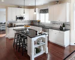 refrigerator kitchen cabinet dark floor kitchen bronze arch high single handle faucet wooden