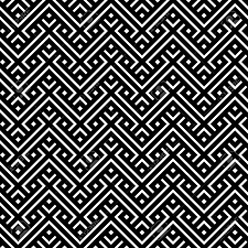 Moroccan Tile by Black And White Moroccan Tile Fabric Decoration